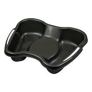 SANTA CLARA Bacia para Pedicure Plástica ref.347 Preto (9628)