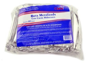 Santa Clara Bota Metalizada c/Creme Hidratante20Pares (2030)