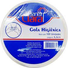 SANTA CLARA Gola Higiênica 100Un (2176)