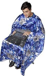 SANTA CLARA Capa para Corte em Cetim com Visor Plástico (sem manga com botão) estampas sortidas (2318)