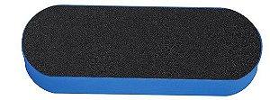 Santa Clara Lixa para os Pés em EVA 25mm lixa Preta/Preta (2346)