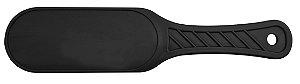 Santa Clara Suporte de Lixa para os Pés em Plástico Preto (2979)