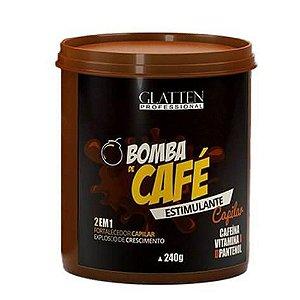 Glatten Máscara Estimulante Bomba de Café - 240g
