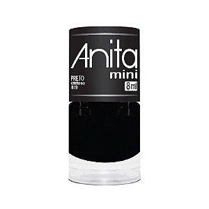 Anita Mini Esmalte Preto Cremoso 819 - 8ml