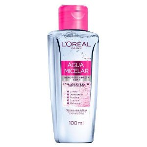 L'Oréal Água Micelar Solução de Limpeza Facial 5 em 1 100ml