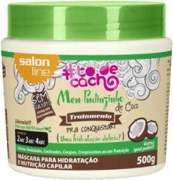 Salon Line #TODECACHO Máscara Meu Pudinzinho de Coco - 500g