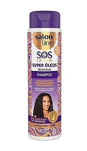SALON LINE SOS Cachos Super Óleos Shampoo 300ml