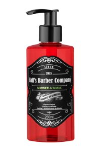 Hall's Barber Company Shower e Shave - 250ml