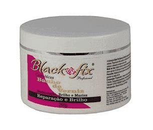 BLACK FIX Banho de Verniz  Máscara Capilar de Hidratação 250g
