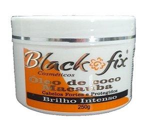 BLACK FIX Óleo de Coco de Macaúba Máscara Capilar Brilho Intenso 250g