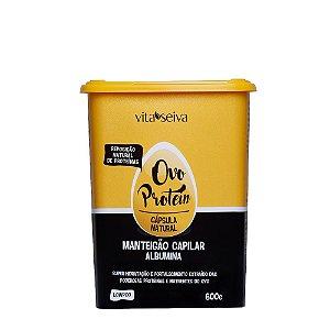 Vita Seiva Ovo Protein Manteigão Capilar Albumina 600g