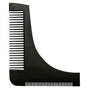 SANTA CLARA Pente Modelador e Alinhador para Barba Preto (4434)