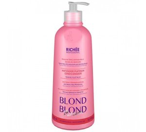 Richée Professional Blond Platinum - Matizador Condicionante - 500ml