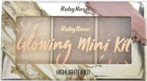 Ruby Rose Paleta Iluminadora Glowing  Mini Kit HB-7215 Cor 01