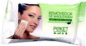 RUBY ROSE Lenço Removedor de Maquiagem Aloe Vera 15un HB-199