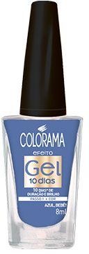 Colorama Esmalte Efeito Gel 10 dias Azul, Bebê