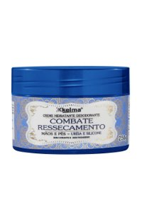 kelma Creme Hidratante Desodorante para Mãos e Pés para Combate o Ressecamento 250g