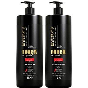 Bio Extratus Força com Pimenta Shampoo + Condicionador 1L