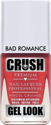 Crush Gel Look Esmalte Cremoso Bad Romance