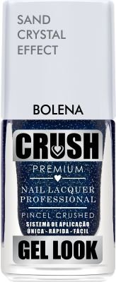 Crush Gel Look Esmalte Sand Crystal Effect Bolena