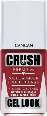Crush Gel Look Esmalte Cremoso Cancan