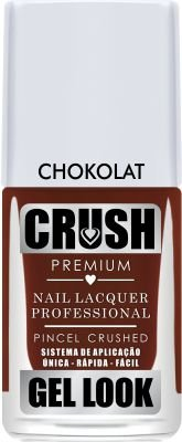 Crush Gel Look Esmalte Cremoso Chokolat
