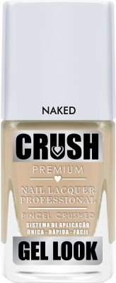 Crush Gel Look Esmalte Cremoso Naked