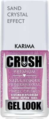Crush Gel Look Esmalte Sand Crystal Effect Karima