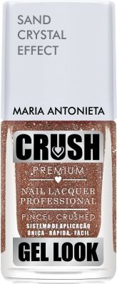 Crush Gel Look Esmalte Sand Crystal Effect Maria Antonieta