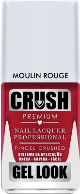 Crush Gel Look Esmalte Cremoso Moulin Rouge