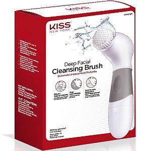 Kiss Ny Escova de Limp. Facial Profunda - Deep Facial Cleansing Brush