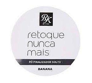 RK by KISS Retoque Nunca Mais Pó Finalizador Solto Banana 6g