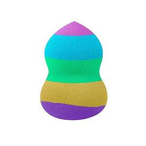 SANTA CLARA Esponja Colorida Beautyful Blend 360° para Maquiagem (4779)