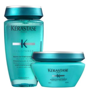 KÉRASTASE Resistance Extentioniste Bain 250ml + Masque 200ml