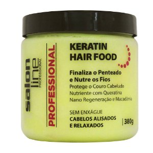 Salon Line Professional Pomada Keratin Hair Food 380g