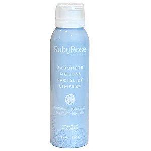 RUBY ROSE Sabonete Mousse Facial de Limpeza Nuvem de Algodão 150ml HB-320