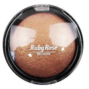 Ruby Rose Pó Facial Bronzeador Bronzer n°4 Cobre HB-7213