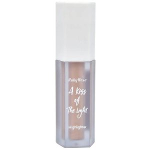 RUBY ROSE A Kiss of The Light HighLighther Iluminador Líquido n°04 Dourado Rose 4,8ML HB-8099
