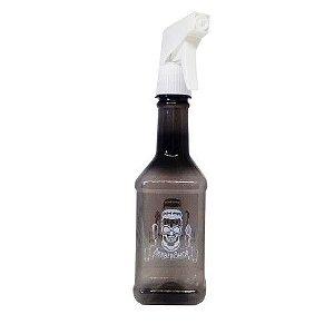 SANTA CLARA Pulverizador para Barbearia PET Modelo Texas Fumê 350ml (4571)