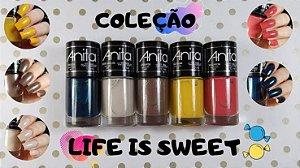 ANITA Esmalte Life is Sweet Coleção