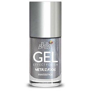 Bella Brazil Esmalte Efeito Gel Metalizado Fantástica 8ml