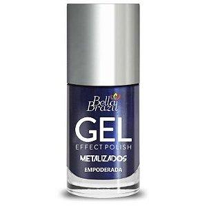 BELLA BRAZIL Esmalte Efeito Gel Metalizado Empoderada 8ml