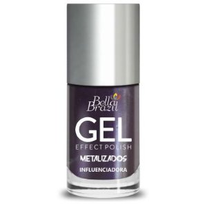 Bella Brazil Esmalte Efeito Gel Metalizado Influenciadora 8ml