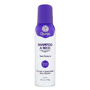OURAN Shampoo a Seco Sem Perfume para Cabelo Seco 150ml