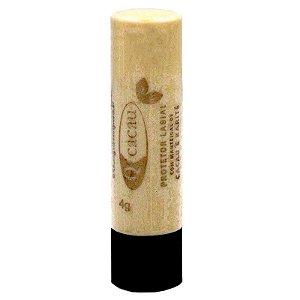 QCacau Protetor Labial com Manteiga de Cacau e Karite 4g