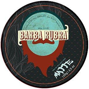 BARBA RUBRA Pomada Matte para Cabelo, Barba e Bigode 100g
