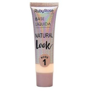 Ruby Rose Base Líquida Natural Look Nude 1 29ml