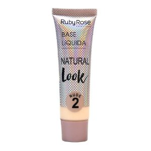 RUBY ROSE Base Líquida Natural Look HB-8051 Nude 2 29ml