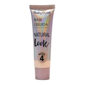 Ruby Rose Base Líquida Natural Look Nude 4 29ml