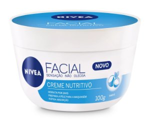 Nivea Creme Facial Nutritivo 100g